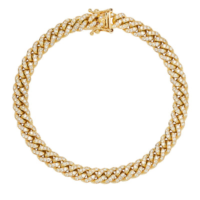 6MM Diamond Miami Cuban Link