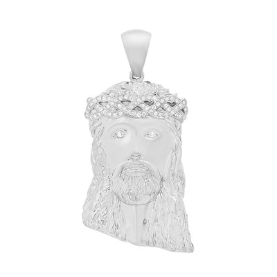 XL Diamond Jesus Piece