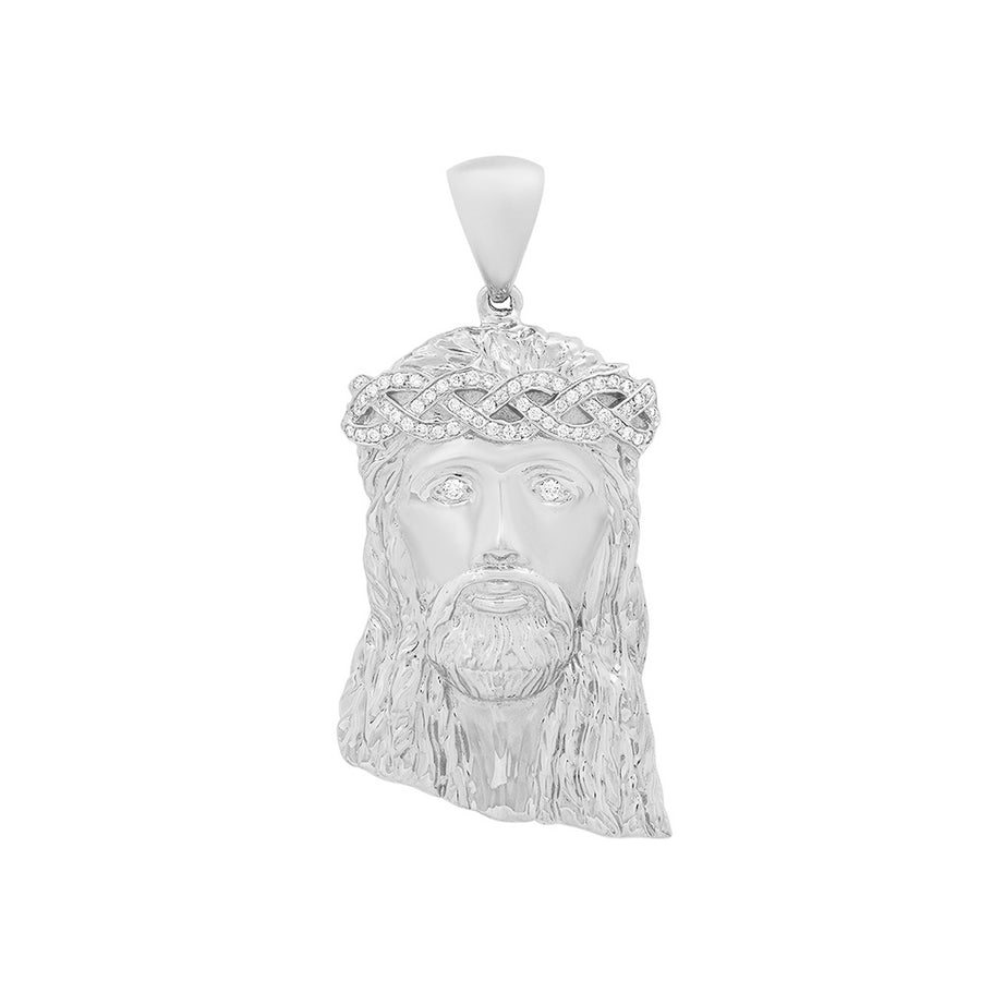 Large Diamond Jesus Piece