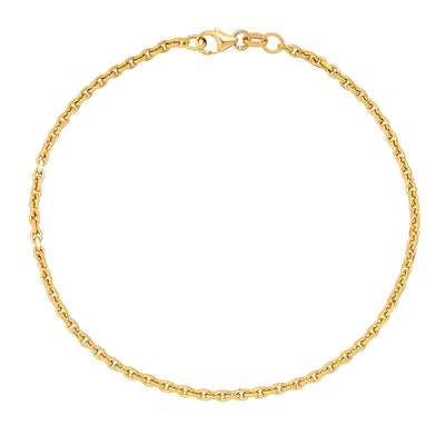 2MM Jacoje Link Anklet
