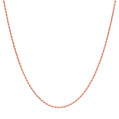 1.5MM Rope Chain (DIAMOND CUT)