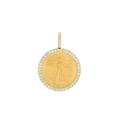 1/4 oz American Gold Eagle (Diamond)