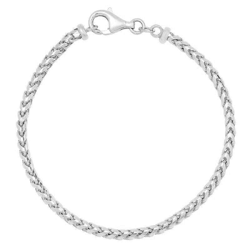 3MM Franco Bracelet (Diamond Cut)