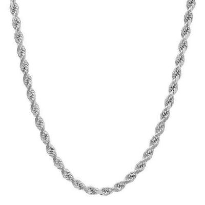 3MM Rope Chain (DIAMOND CUT)