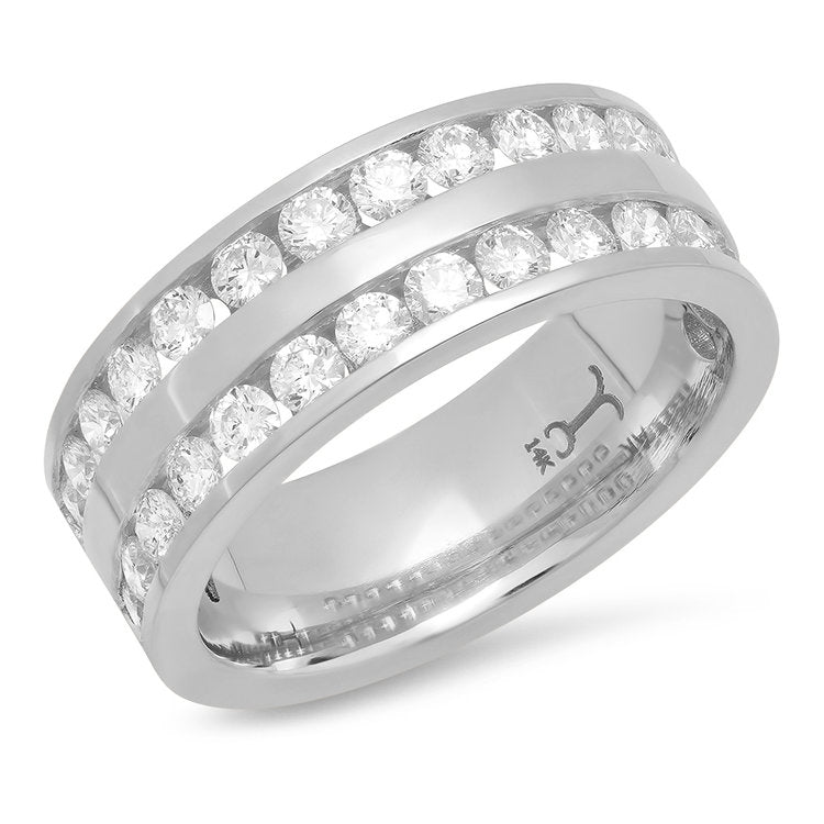 Diamond Channel Set Ring