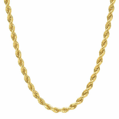 4MM Rope Chain (DIAMOND CUT)