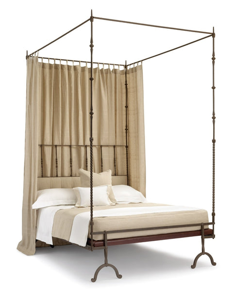 17th Century Italian Iron Bed