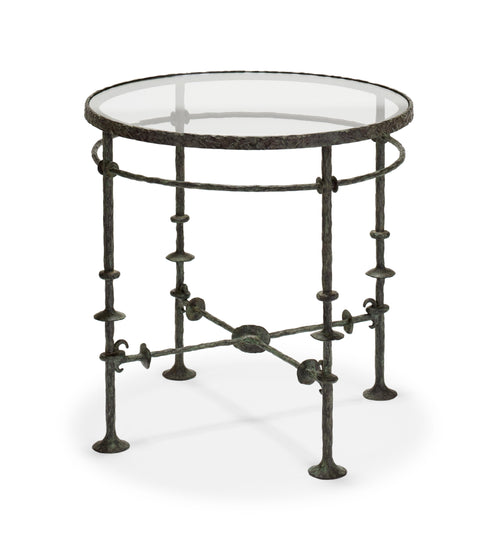 London Iron End Table