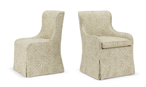 Paloma Dining Sidechair & Armchair (lowback)
