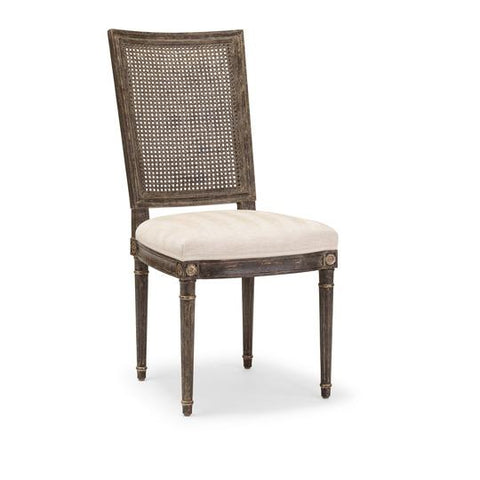 Saxony Sidechair (caned back)