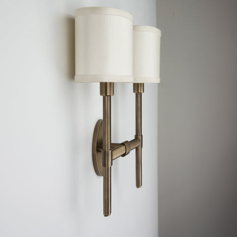 Oval Double Sconce