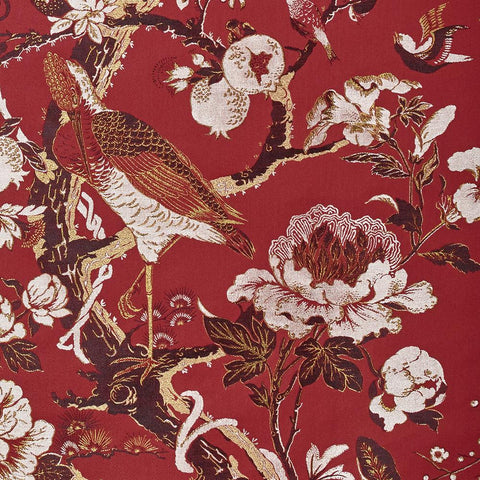 Silkbird Jacquard - Red Lac