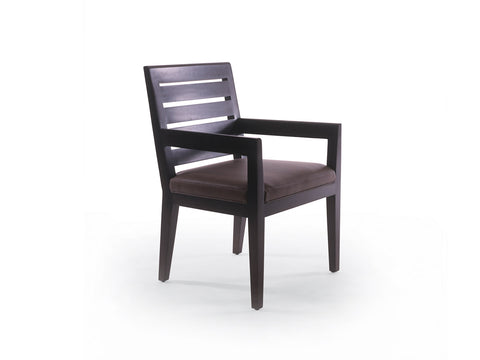 Graduate Arm Chair with Slat Back