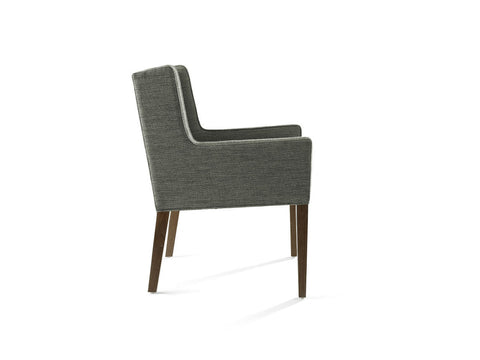 Van Arm Chair with Low Back
