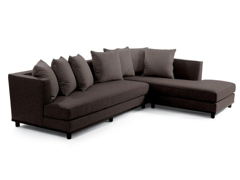 DB Daybed Sectional with Throw Pillows