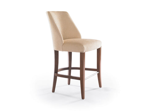 Maria Counter Stool with High Back