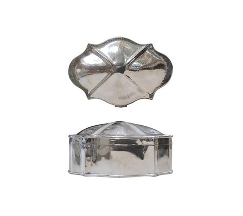 SILVER DOMED BOX