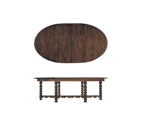 SPANISH OVAL DINING TABLE