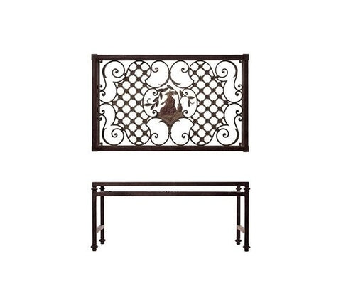 CHINOISERIE GRILL TABLE