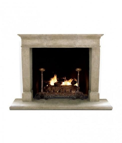 TAPERED LEG FIREPLACE
