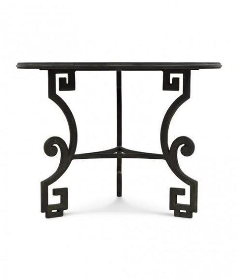 GREEK KEY SIDE TABLE