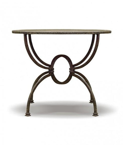 IRON GLOBE SIDE TABLE