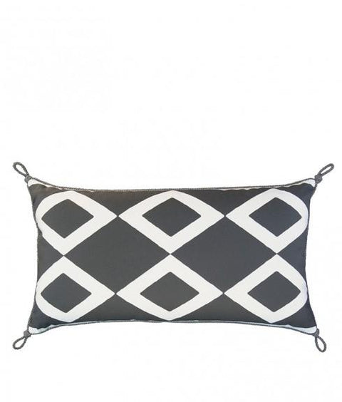DIAMOND PILLOW - SLATE