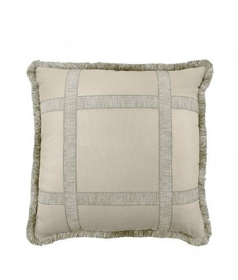 WINDOW PANE PILLOW - AMMONITE