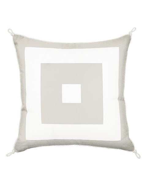 CUBED PILLOW - SELENITE