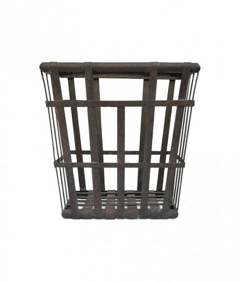 IRON SQUARE CAGE PLANTER