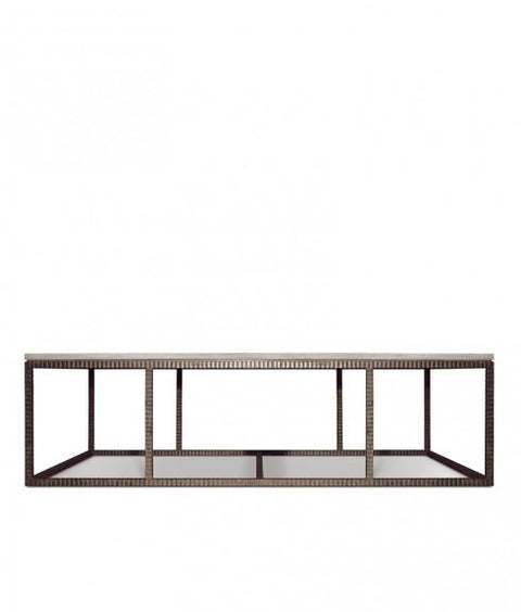 TAVOLINO WOOD & IRON COFFEE TABLE