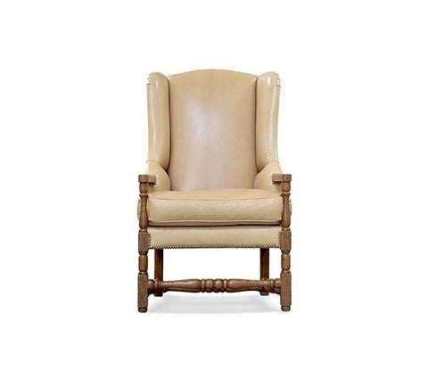 LOUIS XIII WING CHAIR