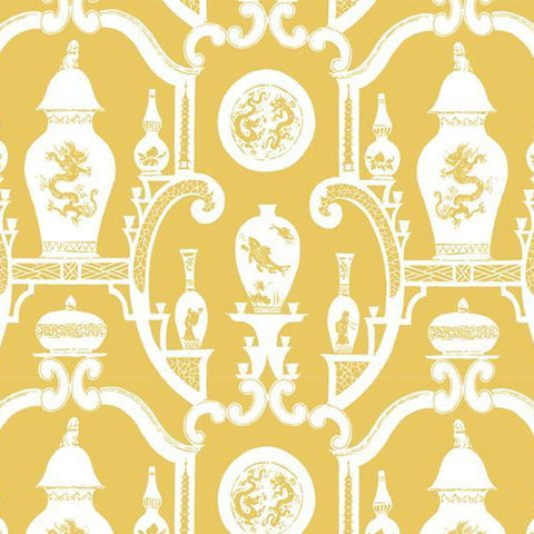Cathay Wallpaper - Imperial Yellow