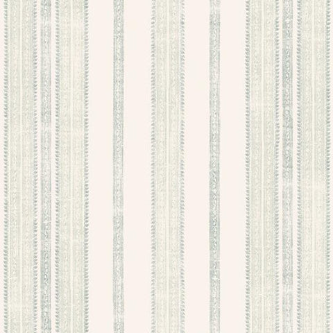 Surat Stripe Wallpaper - Ocean/Jade