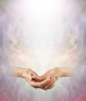 Metaphysical healing hands