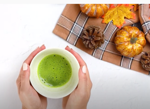Matcha Pumpkin Spiced Latte