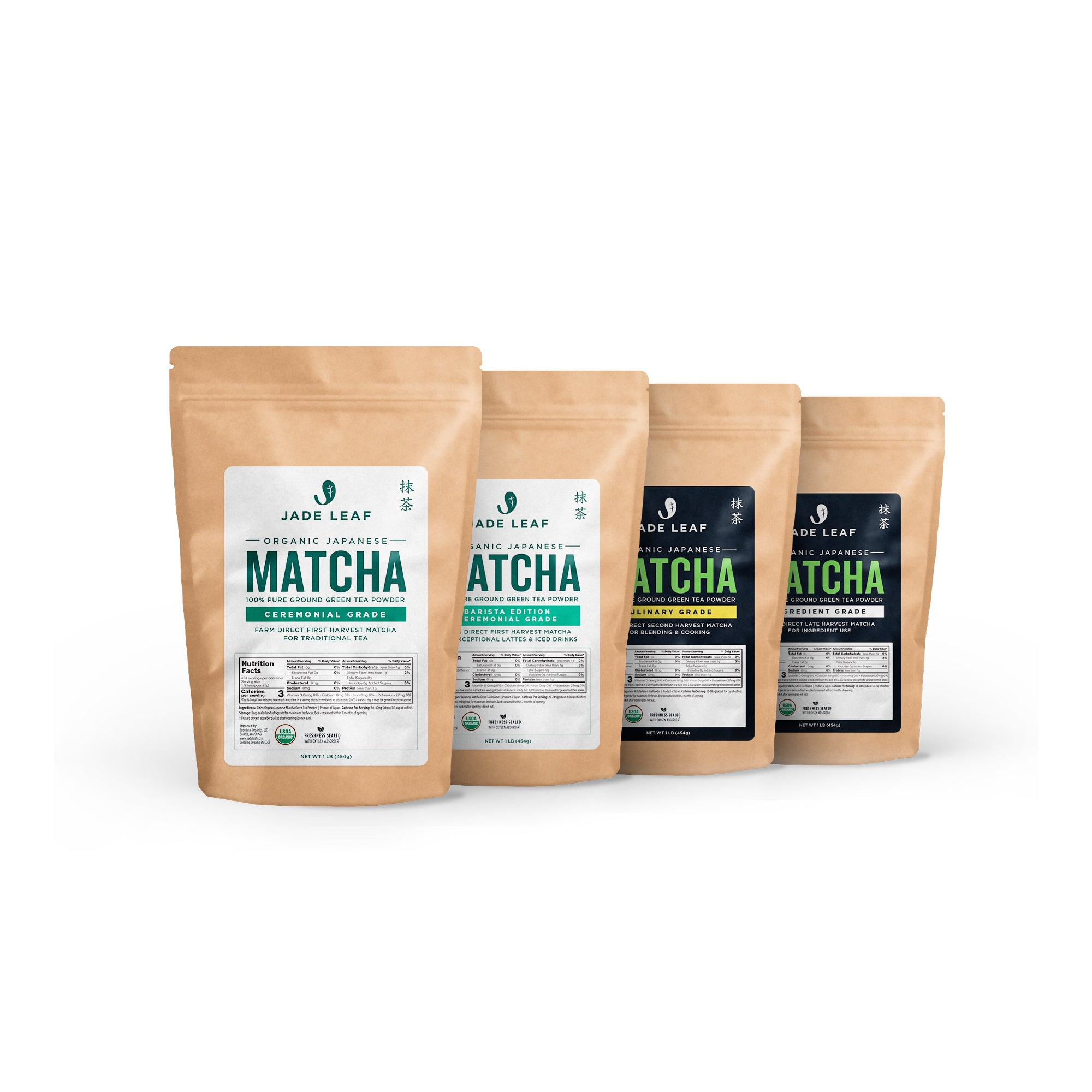 Jade Leaf Organic Matcha Samples
