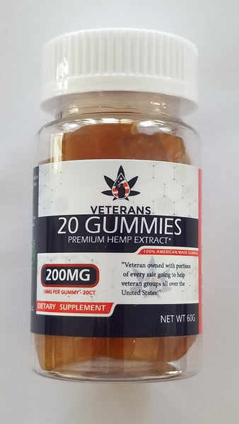 CBD Gummy – 20ct Pure Full Spectrum CBD Gummy