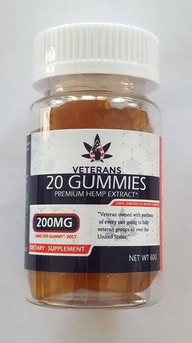 CBD Gummy – 20ct Full Spectrum CBD Gummy