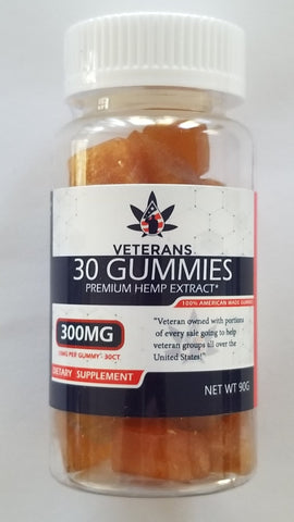CBD Gummy – 30ct Pure Full Spectrum CBD Gummy