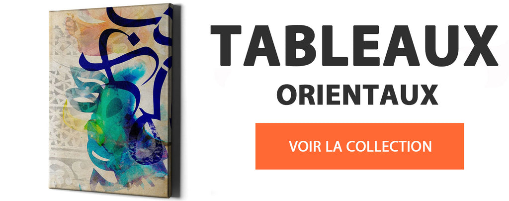 collection tableau oriental