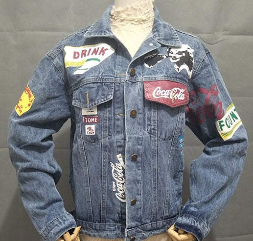 VINTAGE COCA-COLA DENIM JACKET