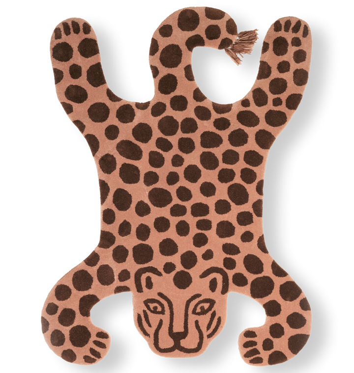 Safari Tufted Rug: Leopard