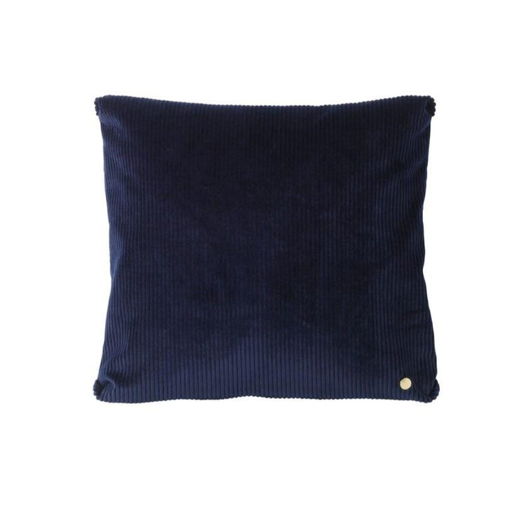 Corduroy Cushion: Navy