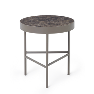 Marble Table Medium: Brown Emperador
