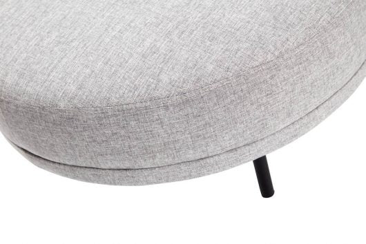 Round Stool: Light Grey