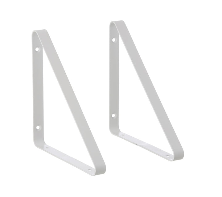 Shelf Hangers Set of 2: White