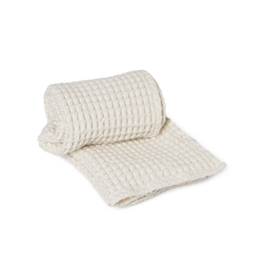 Organic Hand Towel: Off White