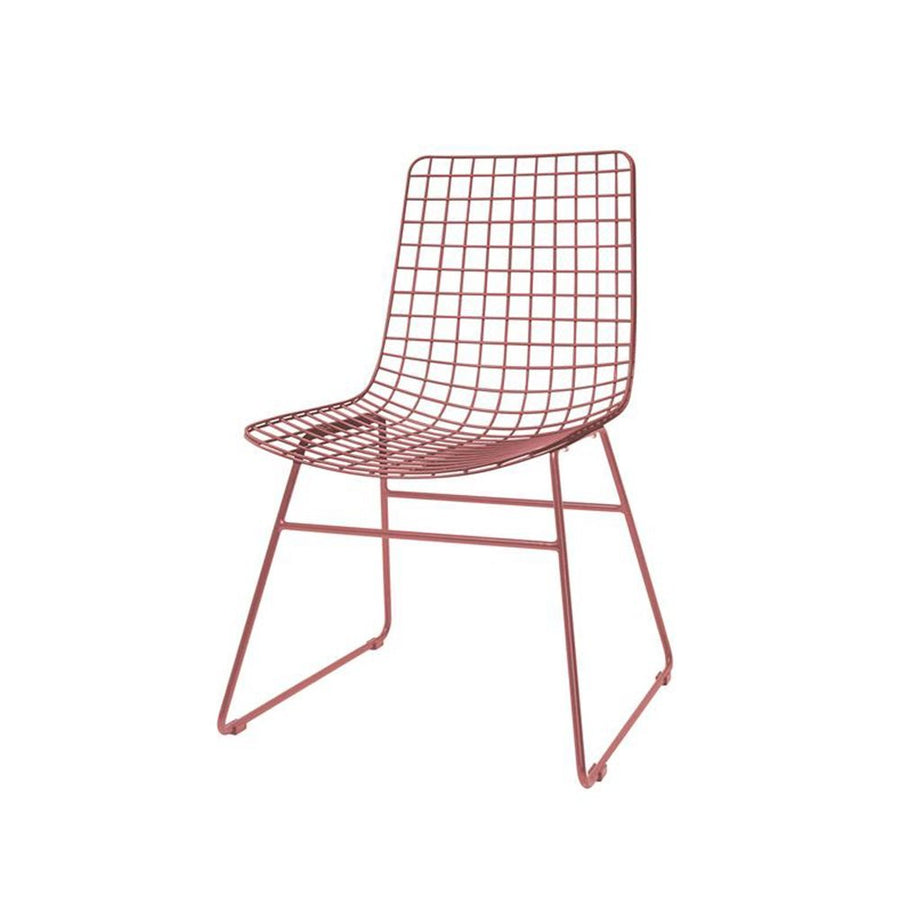 Metal Wire Chair Marsala