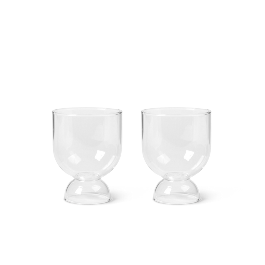 Still Glasses Set of 2: Clear